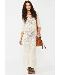 Nasty Gal Freewheelin Crochet Dress - Lyst