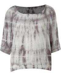 Vero Moda Very - Crop Tie Dye Tshirt - Lyst