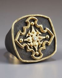 Armenta - Pointed Cross Ring - Lyst