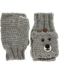 ASOS - Asos Bear Converter Gloves - Lyst