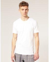 Calvin Klein 2 Pack Crew T-Shirts - Lyst