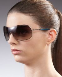 Marc By Marc Jacobs - Shield Sunglasses  - Lyst