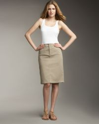 Not Your Daughter's Jeans - Chino Cargo Skirt Womens - Lyst