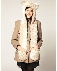 Spirit Hoods - Spirithoods Snow Leopard Hood - Lyst