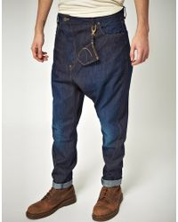 Vivienne Westwood Anglomania For Lee - Vivienne Westwood Anglomania For Lee Asymmetrical Waterless Jean with Pocket Wallet - Lyst