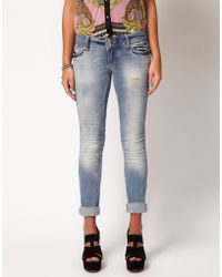 River Island River Island Skinny Molly Jeans - Lyst