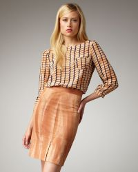 Kelly Wearstler | Azalea Pencil Skirt | Lyst