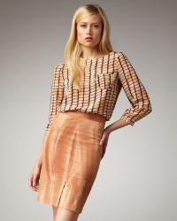 Kelly Wearstler Azalea Pencil Skirt - Lyst