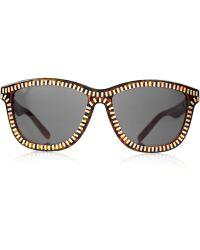 Alexander Wang | Zipper Framed Sunglasses | Lyst