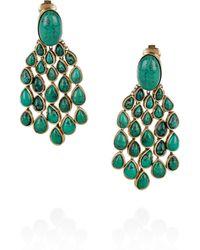 Aurelie Bidermann 'Cherokee' Earrings - Lyst