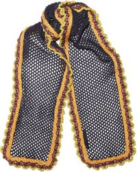 Burberry Prorsum - Crocheted Silk Blend Scarf - Lyst