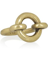 Giles & Brother - Archer Goldtone Ring - Lyst