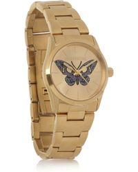 Zadig & Voltaire | Coated Stainless Steel Butterfly Motif Watch | Lyst