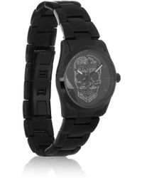Zadig & Voltaire | Coated Stainless Steel Skull Motif Watch | Lyst