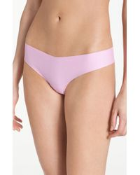Commando Pink Cotton Thong - Lyst