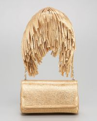 Christian Louboutin Artemis Gaia Fringe Shoulder Bag - Lyst