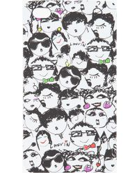 Lanvin - Porte Iphone Case - Lyst