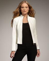 Royal Underground - Leather Zip Jacket - Lyst