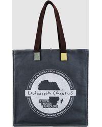 Carmina Campus Large Fabric Bag - Lyst