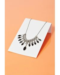 Nasty Gal On The Fringe Necklace - Lyst
