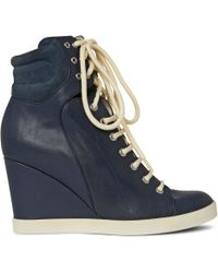 See By Chloé Hollie Wedge Ankle Boots - Lyst