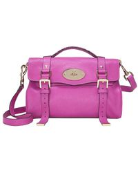 Mulberry - Exclusive Alexa Satchel Fuschia - Lyst