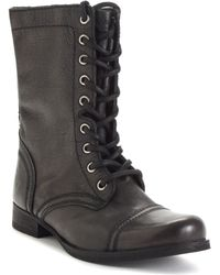 Steve Madden Women'S Troopa Boots - Lyst