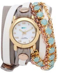 La Mer Collections - St Tropez Chain Wrap Watch - Lyst