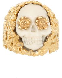 Zoe & Morgan - Zoe and Morgan Skull Ring - Lyst