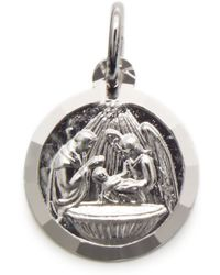 Eci - Sterling Silver Baptism Charm - Lyst