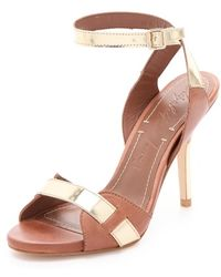 Elizabeth And James Tara High Heel Sandals - Lyst