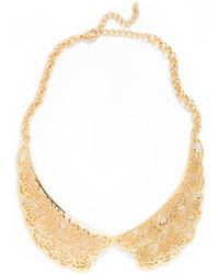 ModCloth Right Under Your Nose Necklace - Lyst