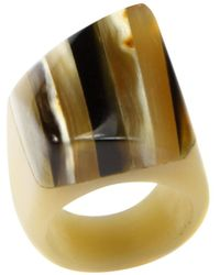 Rachel Roy - Heart Of Haiti Statement Horn Ring - Lyst