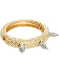 Asos Asos Spike Clamp Bangle - Lyst