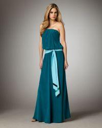 Jay Godfrey Degas Strapless Maxi Dress - Lyst