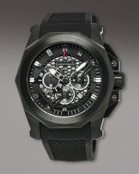 Orefici Watches | Gladiatore Chronograph, Black | Lyst
