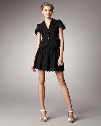 RED Valentino Lacehem Skirt - Lyst