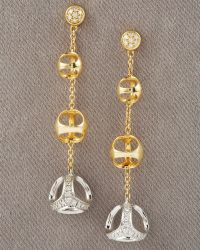 Di Modolo - Triadra Diamond Earrings - Lyst