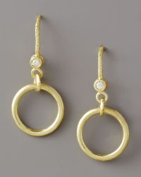Dominique Cohen - Ring-drop Diamond Earrings - Lyst