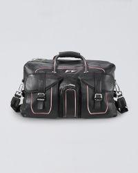 Ferrari Leather Duffel Bag - Lyst