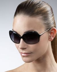 Marc By Marc Jacobs Metalarm Oversized Sunglasses - Lyst