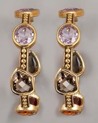 Stephen Dweck - Multi-stone Hoop Earrings - Lyst