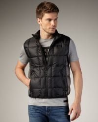 Burberry Sport - Quilted Vest - Lyst