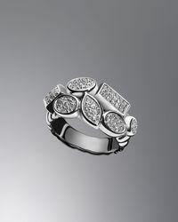 David Yurman - Diamond Confetti Ring - Lyst