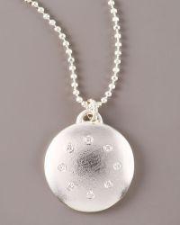 Dominique Cohen - Multi-diamond Disc Necklace, Large - Lyst