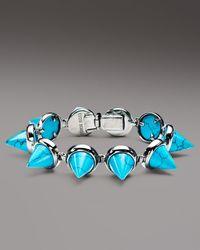 Eddie Borgo - Turquoise Cone Bracelet - Lyst
