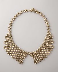 Lanvin - Beaded-chain Collar Necklace - Lyst