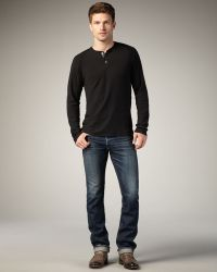 Bliss and Mischief | Nichols Slim Selvedge Jeans | Lyst