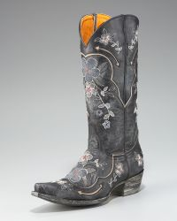 Old Gringo - Floral-embroidered Boot - Lyst