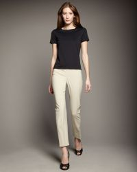 Peace Of Cloth - Susan Seamdetail Cigarette Pants - Lyst